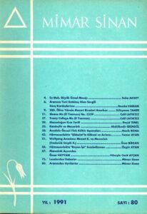 Mimar Sinan Dergisi (80)