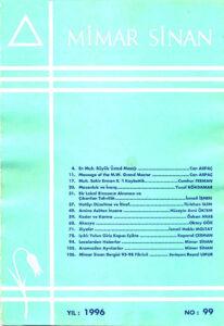 Mimar Sinan Dergisi (99)
