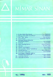 Mimar Sinan dergisi (102)