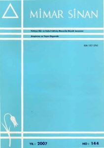 Mimar Sinan dergisi (144)