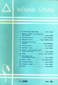 Mimar Sinan dergisi (75)