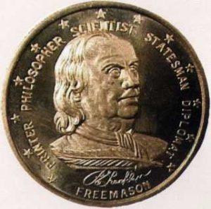 1730yılında Philadelp- hia'da St. Johns Loca- sı'na tebenni etti, 1735- 38 arasında Loca Sekre- terliği'ni yürüttü. 1732'de Pennsylvania Kolonisi Büyük Loca- sı'nın Büyük İkinci Nazı- rı oldu, Haziran 1734'te de Pennsylvania Bölge Büyük Locası'na Büyük Üstat seçildi.