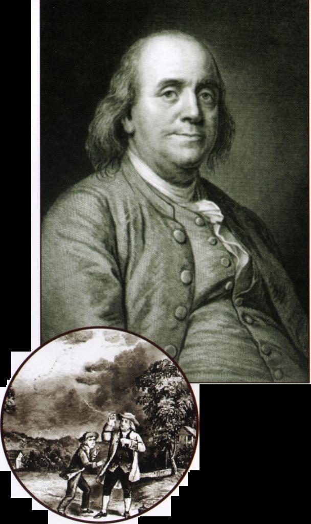 """Pek çok alanda büyük başarılara imza atan Franklin'i bilim dünyası """"paratoner""""i icadıyla hatırlıyor."""
