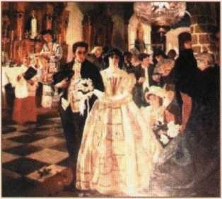Genç yaşta evlenen Bolivar, o tarihlerde bir servet olan yıllık 20.000 $ geliri ve 16 yaşındaki, kendisi gibi zengin olan karısı nedeniyle, Avrupa saraylarında ilgi odağı olmuştu.