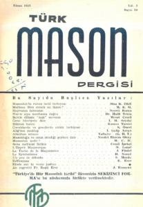 Türk Mason Dergisi Sayı (10)