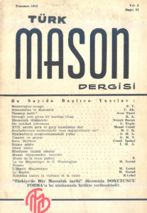 Türk Mason Dergisi Sayı (11)