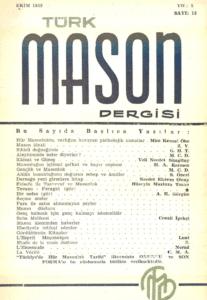 Türk Mason Dergisi Sayı (12)