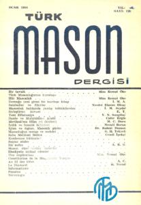 Türk Mason Dergisi Sayı (13)