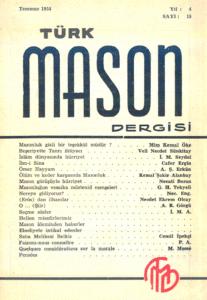 Türk Mason Dergisi Sayı (15)
