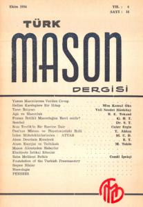 Türk Mason Dergisi Sayı (16)