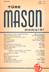 Türk Mason Dergisi Sayı (17)