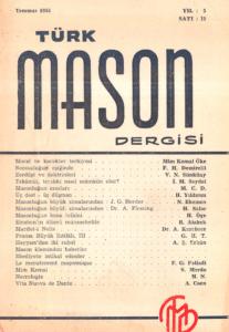 Türk Mason Dergisi Sayı (19)
