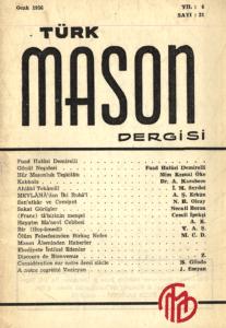 Türk Mason Dergisi Sayı (21)