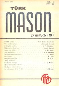 Türk Mason Dergisi Sayı (22)