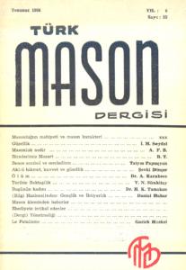 Türk Mason Dergisi Sayı (23)