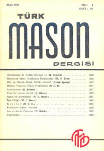 Türk Mason Dergisi Sayı (24)