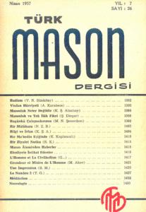 Türk Mason Dergisi Sayı (26)
