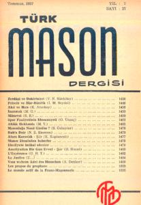 Türk Mason Dergisi Sayı (27)