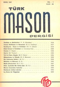 Türk Mason Dergisi Sayı (28)