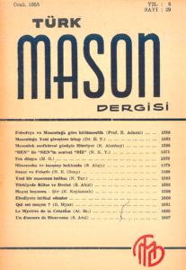 Türk Mason Dergisi Sayı (29)
