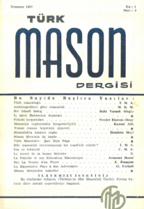 Türk Mason Dergisi Sayı (3)