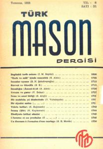 Türk Mason Dergisi Sayı (31)