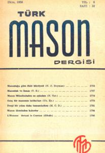 Türk Mason Dergisi Sayı (32)