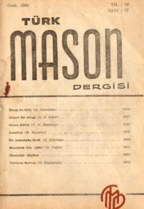 Türk Mason Dergisi Sayı (37)