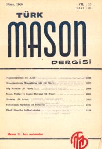Türk Mason Dergisi Sayı (38)