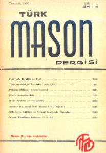 Türk Mason Dergisi Sayı (39)