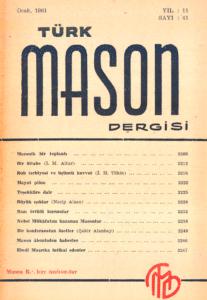 Türk Mason Dergisi Sayı (41)