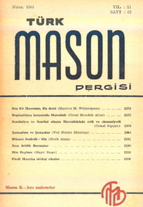 Türk Mason Dergisi Sayı (42)