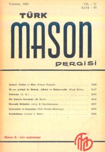 Türk Mason Dergisi Sayı (43)
