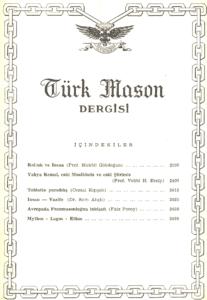 Türk Mason Türk Mason Dergisi Sayı (45)Sayı (45)