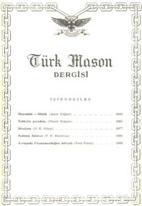 Türk Mason Dergisi Sayı (46)