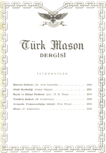 Türk Mason Dergisi Sayı (47)