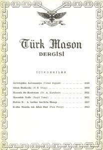 Türk Mason Dergisi Sayı (49)