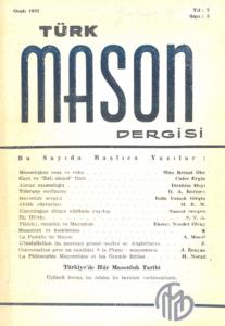 Türk Mason Dergisi Sayı (5)