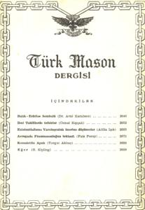 Türk Mason Dergisi Sayı (50)