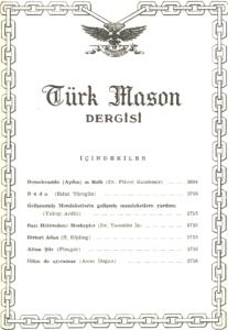Türk Mason Dergisi Sayı (51)