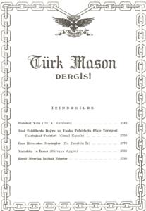 Türk Mason Dergisi Sayı (52)