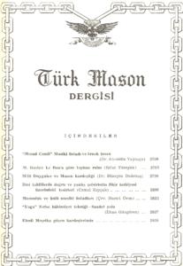 Türk Mason Dergisi Sayı (53)