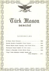 Türk Mason Dergisi Sayı (54)
