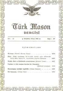 Türk Mason Dergisi Sayı (58)