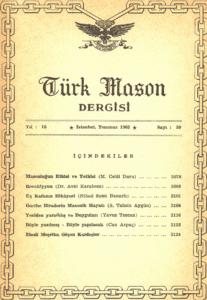 Türk Mason Dergisi Sayı (59)