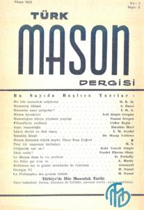 Türk Mason Dergisi Sayı (6)