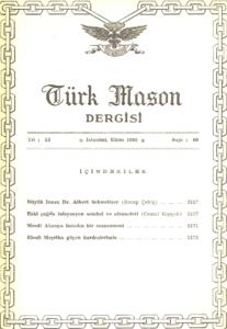 Türk Mason Dergisi Sayı (60)