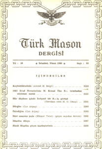 Türk Mason Dergisi Sayı (62)