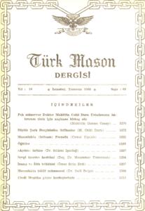 Türk Mason Dergisi Sayı (63)