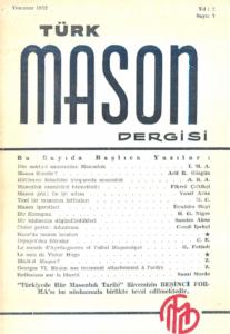 Türk Mason Dergisi Sayı (7)